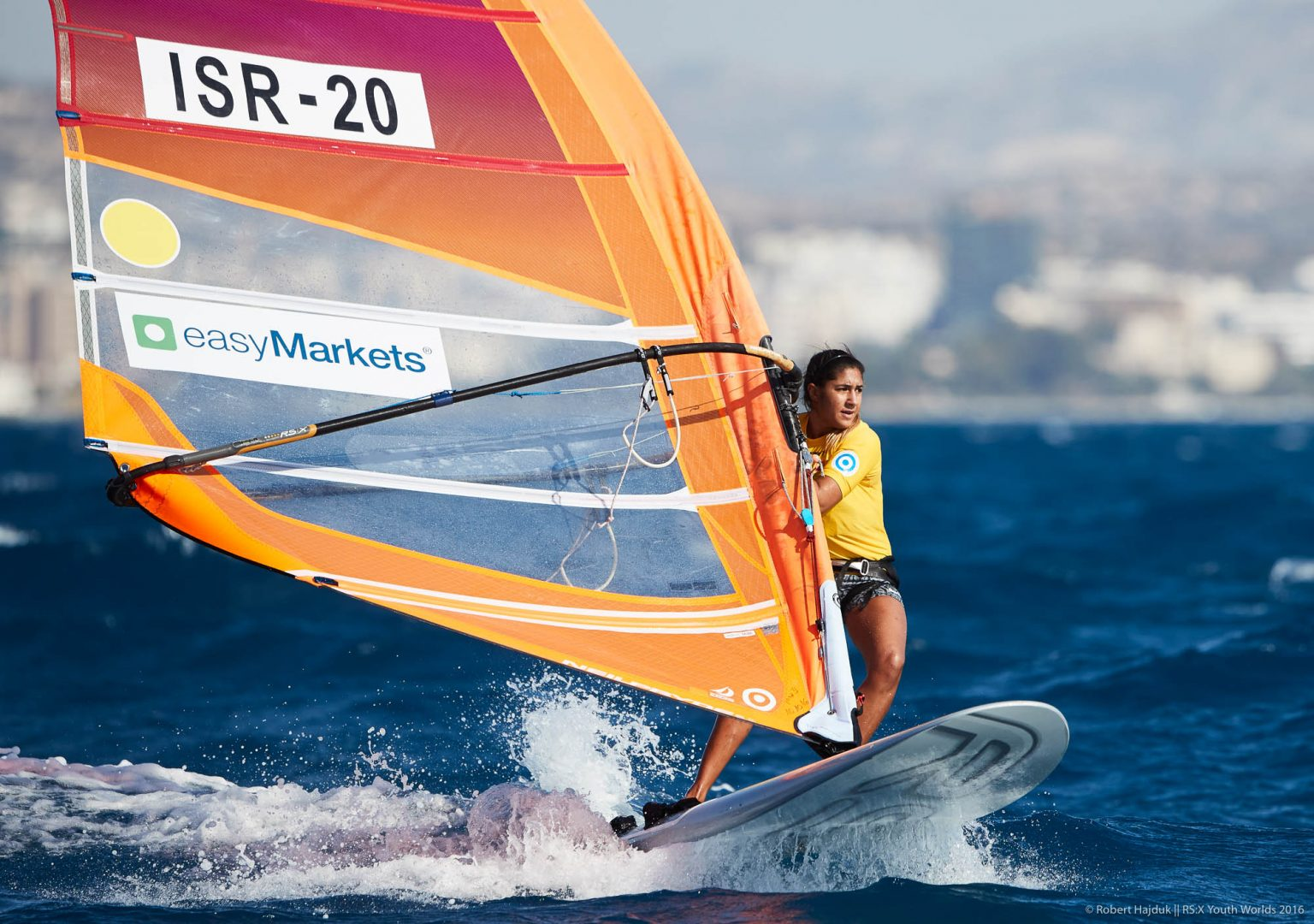 2016 RS:X YOUTH WORLD WINDSURFING CHAMPIONSHIP - Day 1