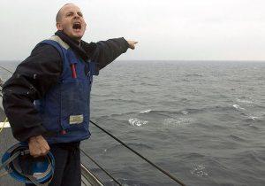 Άνθρωπος στη θάλασσα