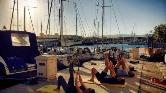 OUTDOOR SAILING FITNESS